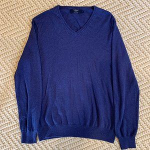 J. Crew Cotton and Cashmere Sweater
